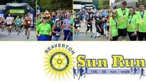7th Annual Beaverton Rotary Sun Run!